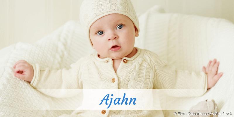Name Ajahn als Bild