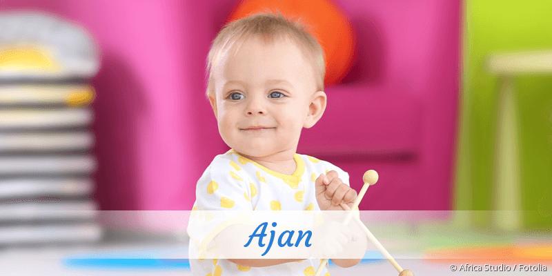 Name Ajan als Bild
