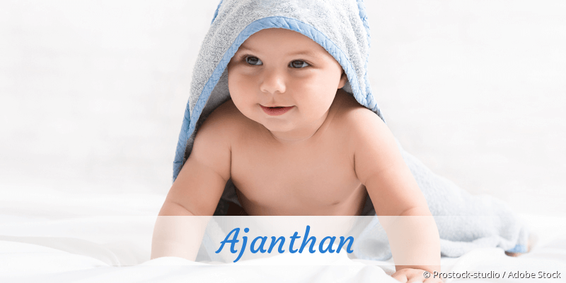 Name Ajanthan als Bild