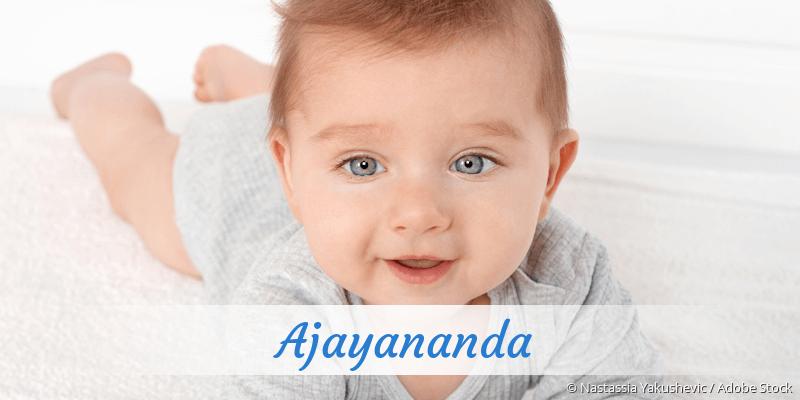 Name Ajayananda als Bild