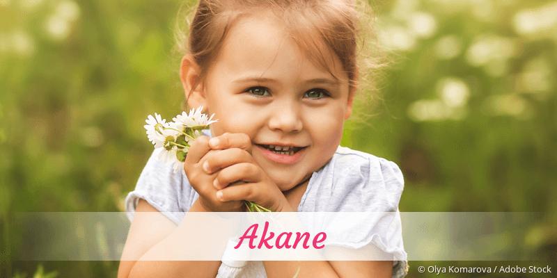 Name Akane als Bild