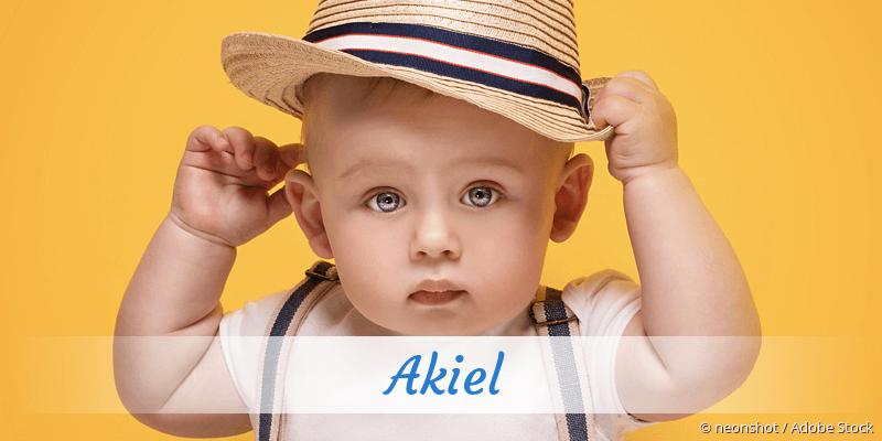Name Akiel als Bild