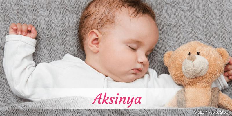 Name Aksinya als Bild
