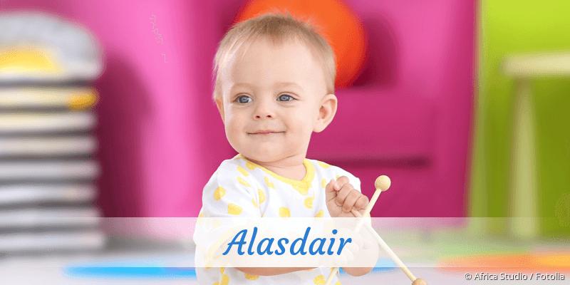 Name Alasdair als Bild