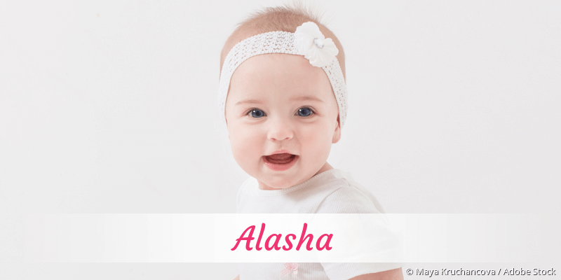 Name Alasha als Bild