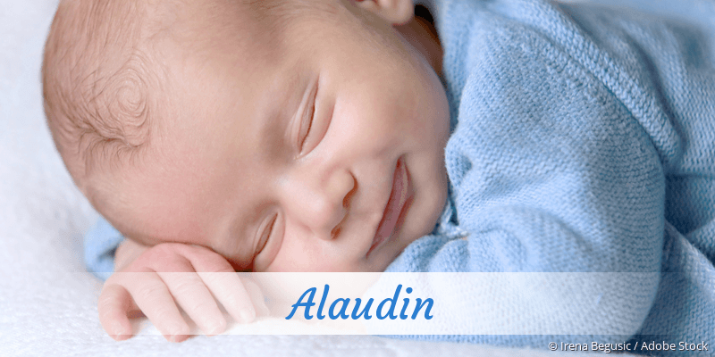 Name Alaudin als Bild