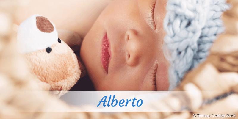 Name Alberto als Bild