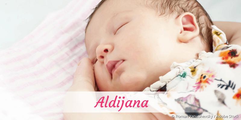 Name Aldijana als Bild