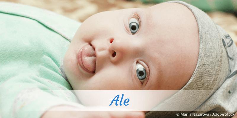 Name Ale als Bild
