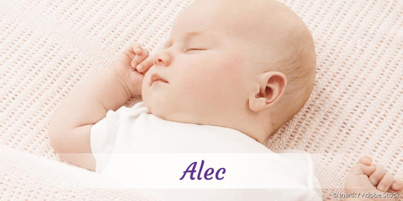 Name Alec als Bild