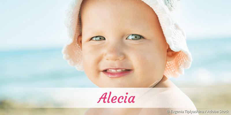Name Alecia als Bild