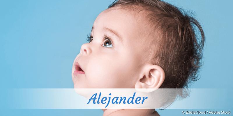 Name Alejander als Bild