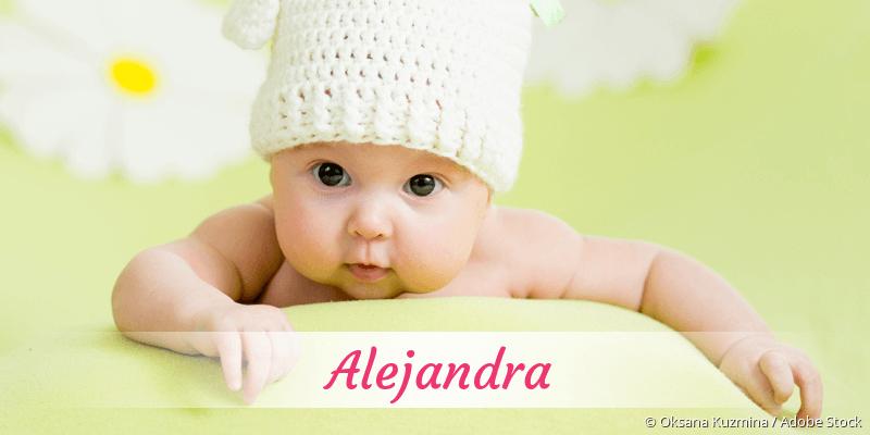 Name Alejandra als Bild