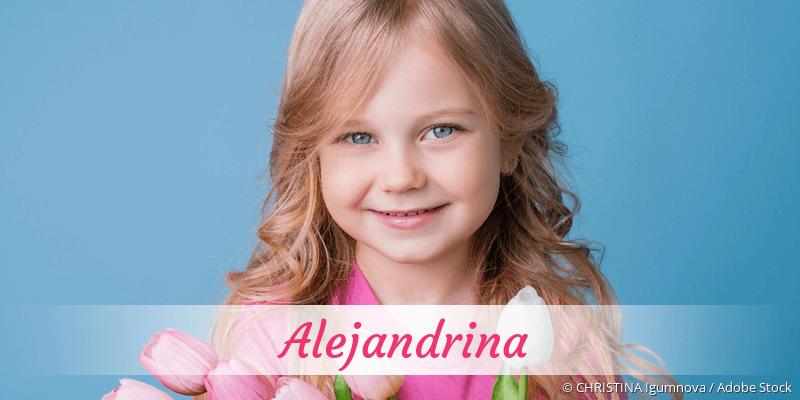 Name Alejandrina als Bild