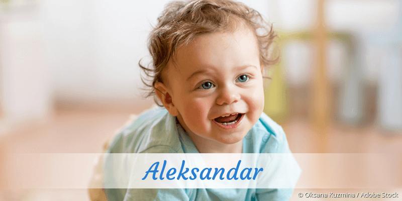 Name Aleksandar als Bild