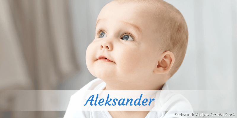 Name Aleksander als Bild