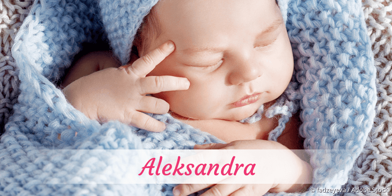 Name Aleksandra als Bild