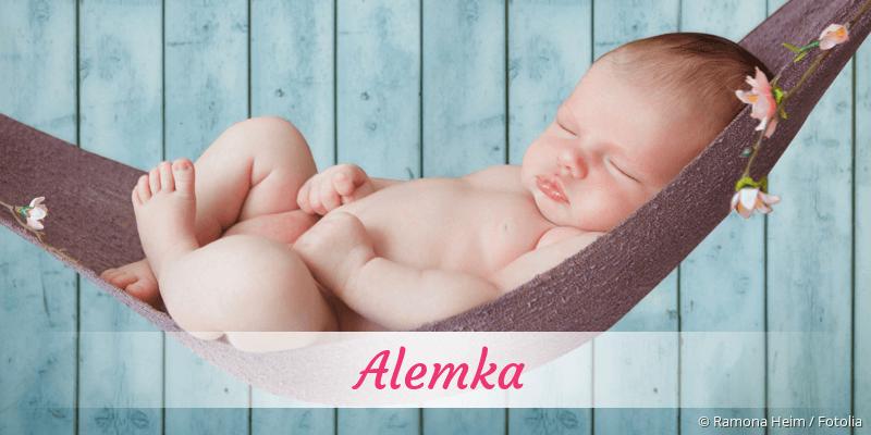 Name Alemka als Bild