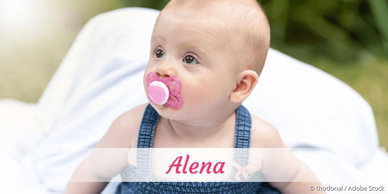 Name Alena als Bild