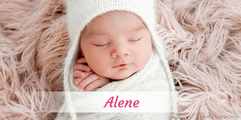 Name Alene als Bild