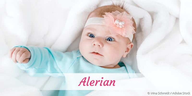 Name Alerian als Bild