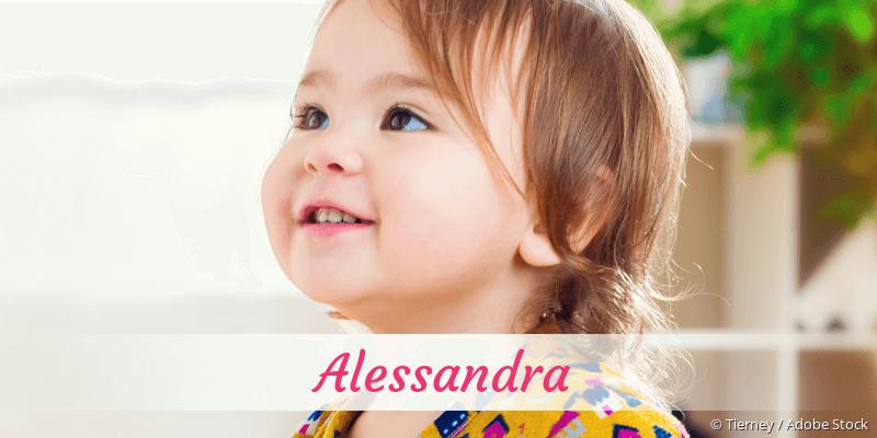 Name Alessandra als Bild