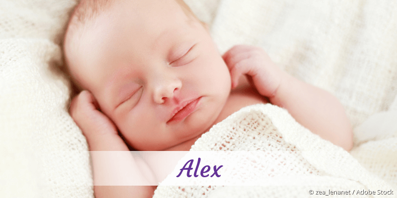 Name Alex als Bild