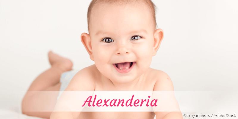 Name Alexanderia als Bild