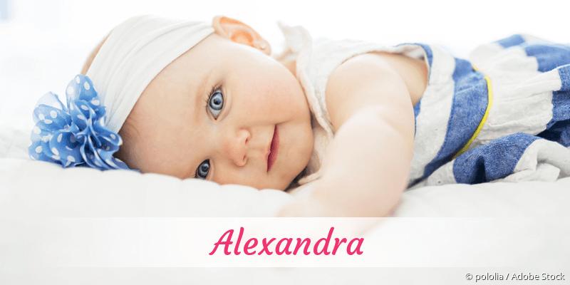 Name Alexandra als Bild