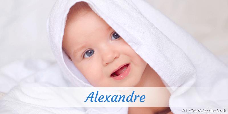 Name Alexandre als Bild