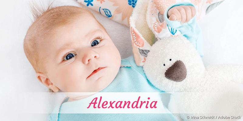 Name Alexandria als Bild