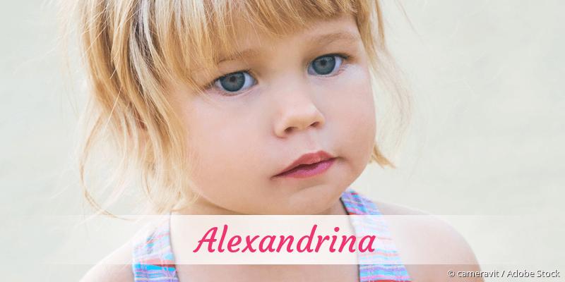 Name Alexandrina als Bild