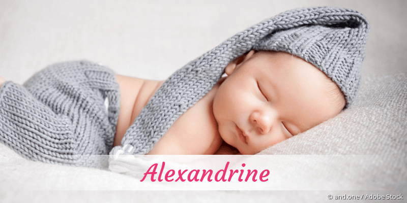 Name Alexandrine als Bild