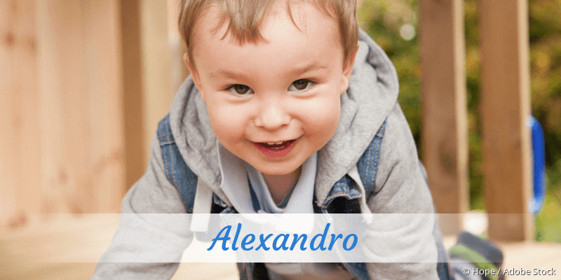 Name Alexandro als Bild