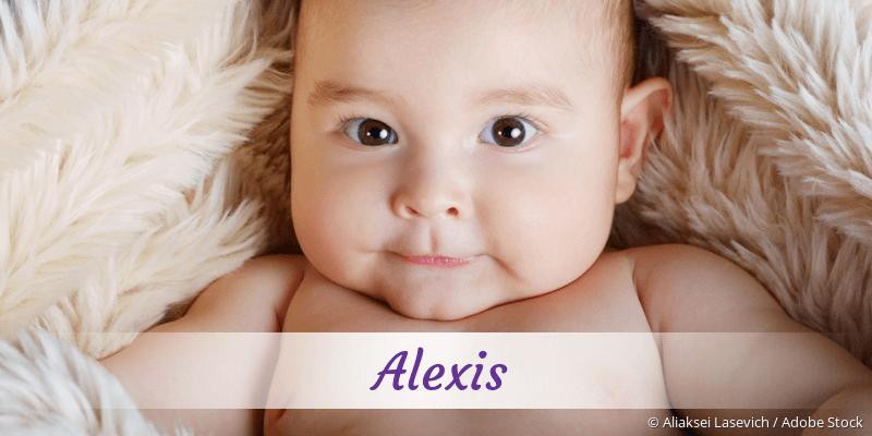 Name Alexis als Bild