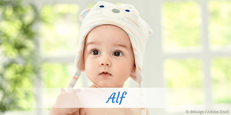 Name Alf als Bild