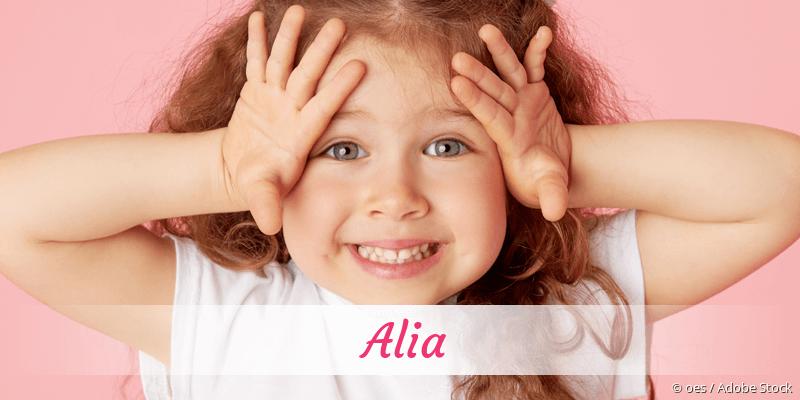 Name Alia als Bild
