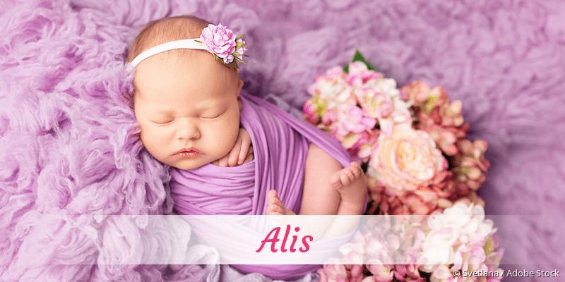 Name Alis als Bild