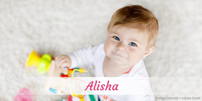 Name Alisha als Bild