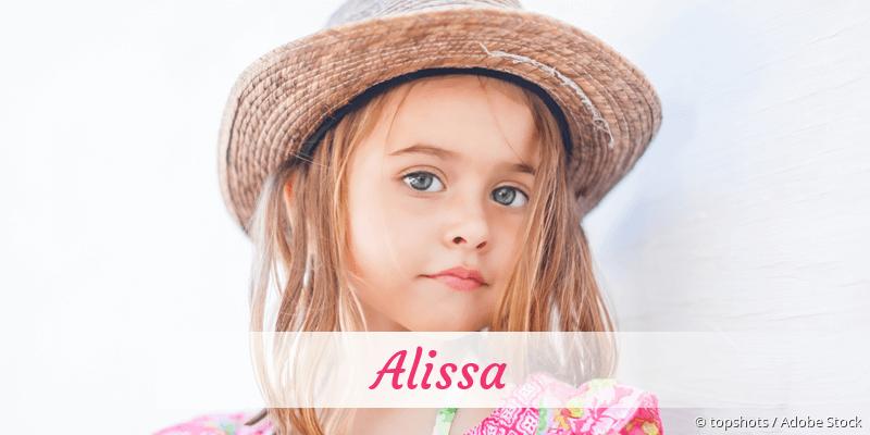 Name Alissa als Bild
