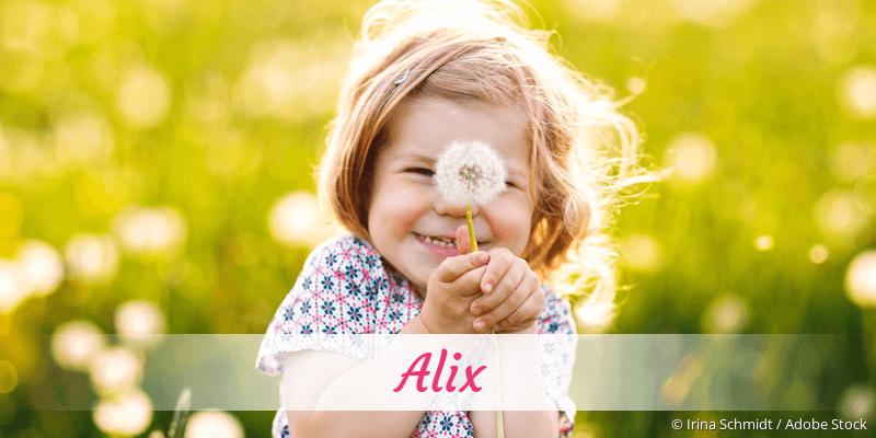 Name Alix als Bild