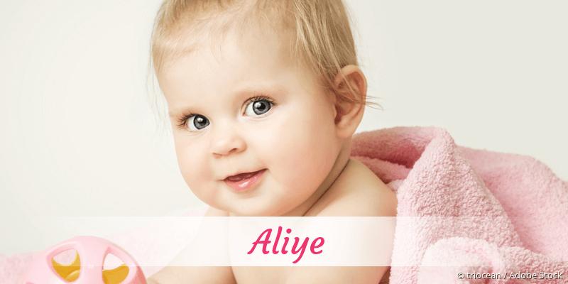 Name Aliye als Bild