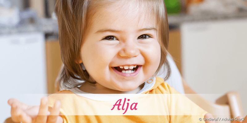 Name Alja als Bild