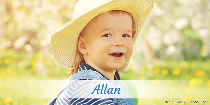 Name Allan als Bild