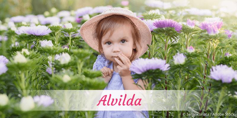 Name Alvilda als Bild