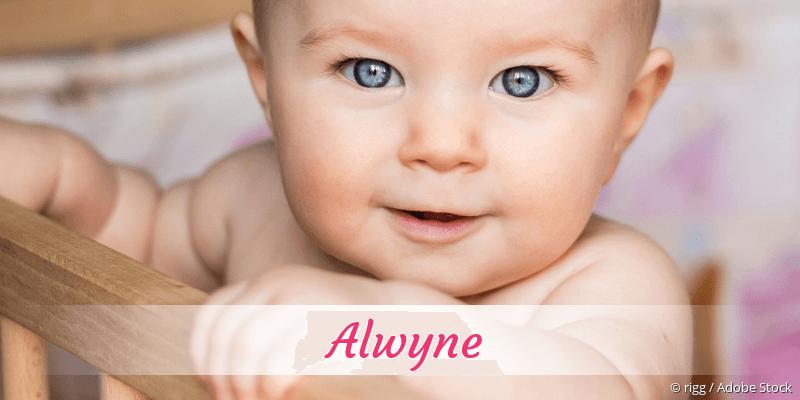 Name Alwyne als Bild