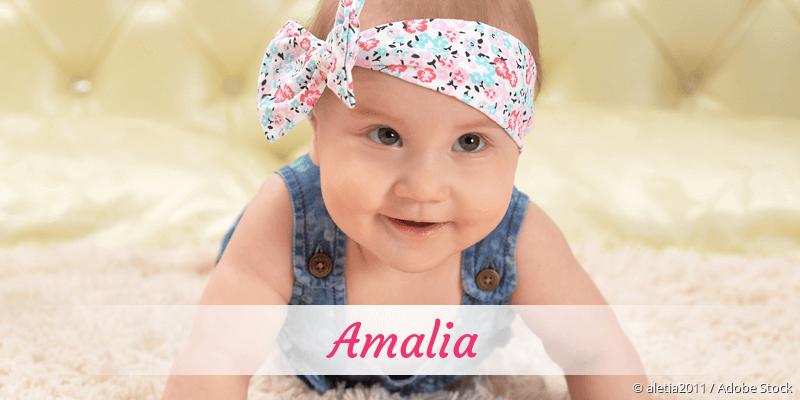 Name Amalia als Bild