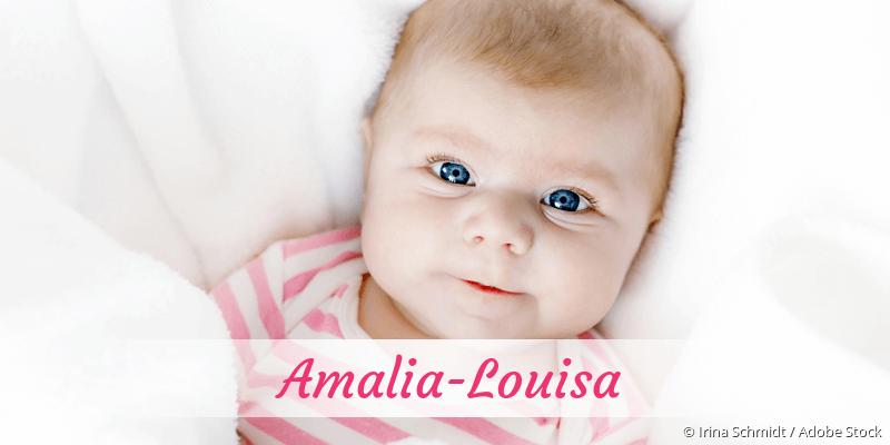 Name Amalia-Louisa als Bild