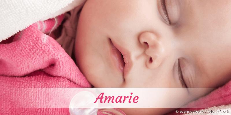Name Amarie als Bild