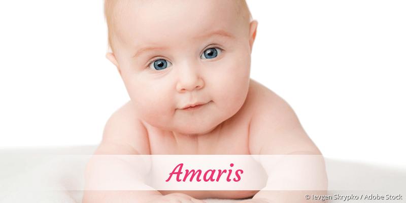 Name Amaris als Bild